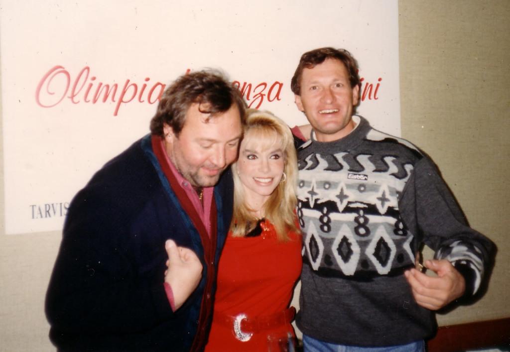 Franz Klammer e Werner Grissmann